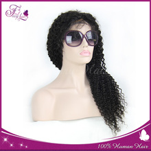 Unrocessed remy hair 100% Chinese human hair full lace wig hand made wig cap 120%- 180% density 8''-32'' fast delivery