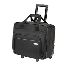 China BSCI supplier black color 16 inch laptop trolley bag, waterproof laptop backpack customized 2017