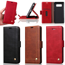New For Samsung Galaxy Note 8 Leather Flip Case with Card Slots Inside, 3 Colors Available
