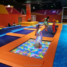 Good Design Professional Trampoline Lasted Large Trampolines With Foam Pit Made From China