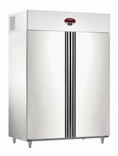 Top Mounted stainless steel GN Refrigerator WithTwoe Door, cold storage Equipment