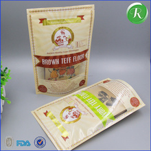 Factory white sugar flour 500g food packing plastic bags for sale
