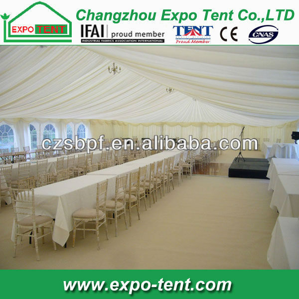 outdoor large pavilion tent for wedding and parties