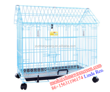 galvanized /PVC/Chromium coated pet cage/pet house
