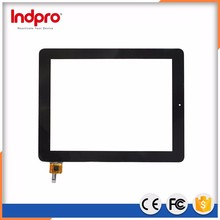 "best price 9.7"" transparent monitor glass touch screen"