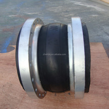 hot sale single sphere & double spheres rubber expansion joint with flange