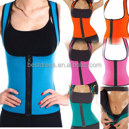 Neoprene vest waist cincher trainer gym fitness slimming waist training corset