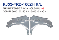 GREAT WALL FLORID S08 front fender with hole