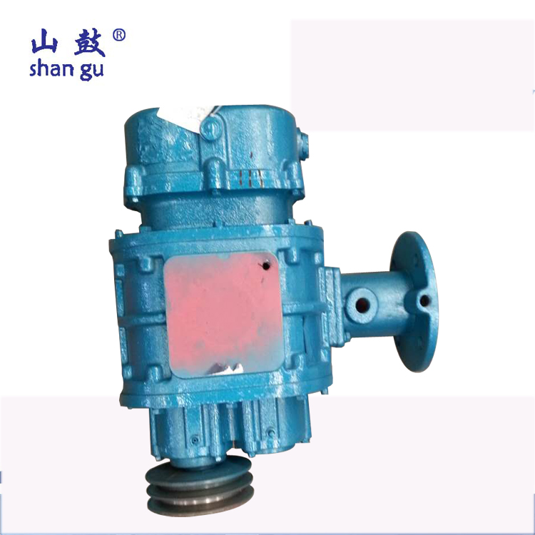 Low noise bare blower aeration roots blower for cement industry