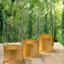 Hot and New Recommended decal glass clear vase