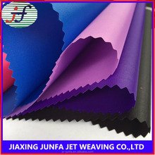 Wholesale 100% polyester plain weaving PU coated 210d oxford fabric for bag