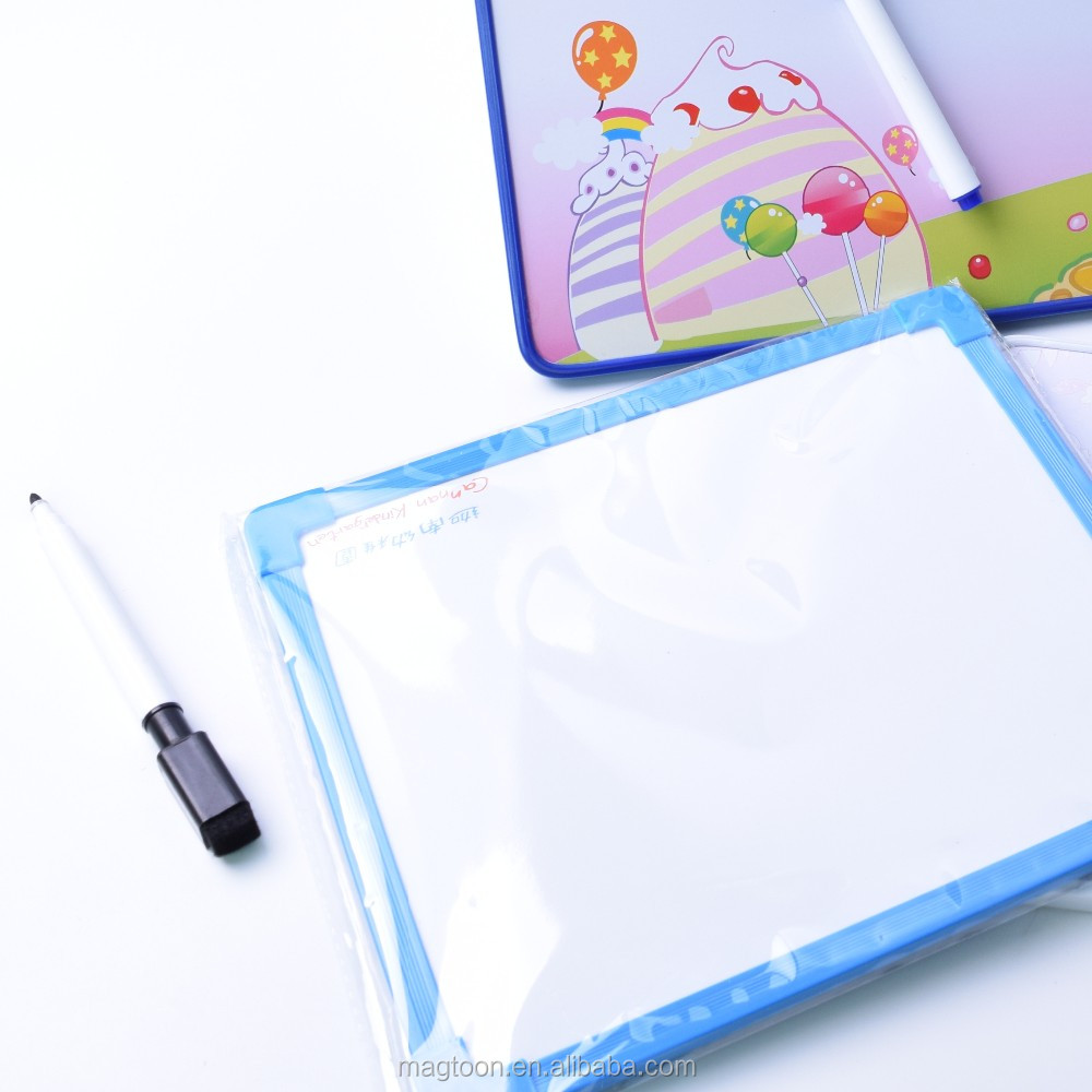 Office supplier aluminum frame Magnetic whiteboard dry wipe white board with markers