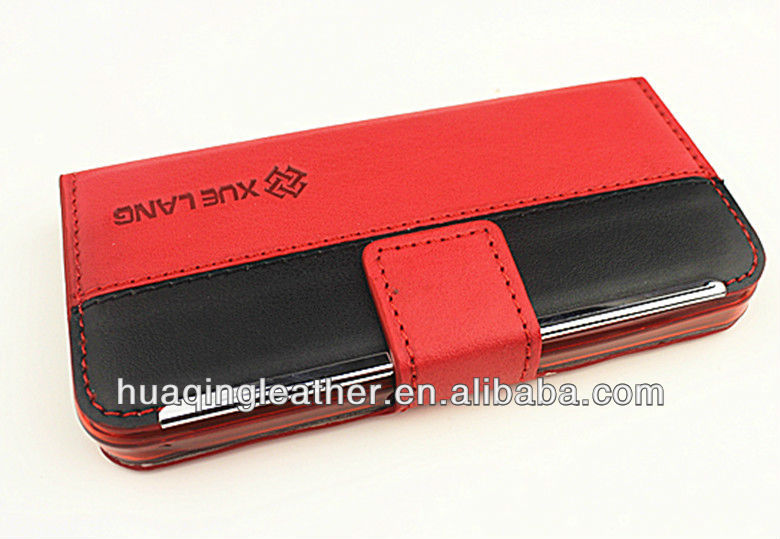 New cover for iphone5 with slots For iphone5g leather case For apple phone5 with card holder