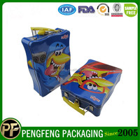 Wholesale Lunch tin boxes Tin Lunch Box With Handle For Kids