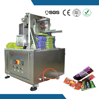 Semi auto adjustable folder glue machine