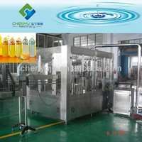 Automatic 350ml Fruit Juice Making Line/ Juice Bottling Machinery