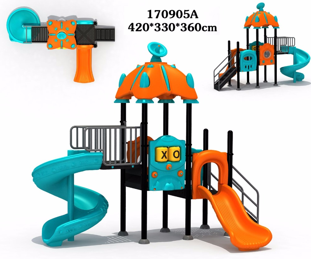 High quality <strong>kid</strong> indoor/outdoor small playground slide