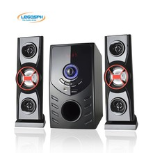 2.1 heavy bass multimedia Speaker with usb sd fm remote