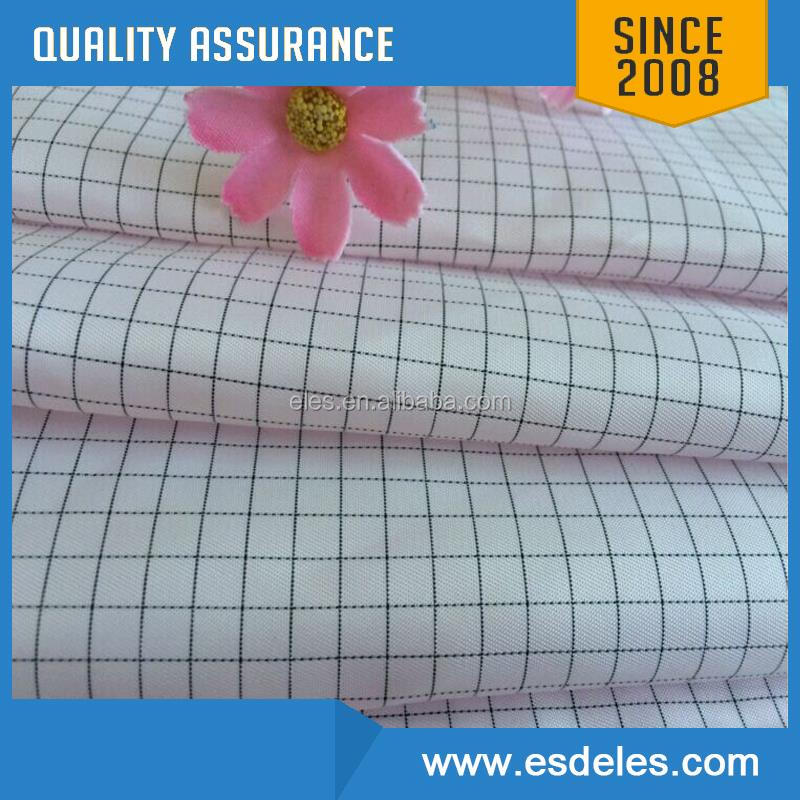 2017 Promotiona china esd clothing fabric stock anti-static fabric