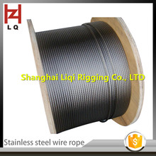 Liqi sling Direct Manufacturer 304 Stainless steel wire rope/ASTM,BS,DIN,GB,JIS Standard and Cold Heading Steel Special Use Stee