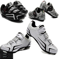 Cycling Shoes for Women Men Bike Cycle Bicycle Riding Road Shoes Nylon Fibreglass Soles Sapatilha Bike