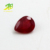 hot sale good quality pear shape natural ruby gemstone