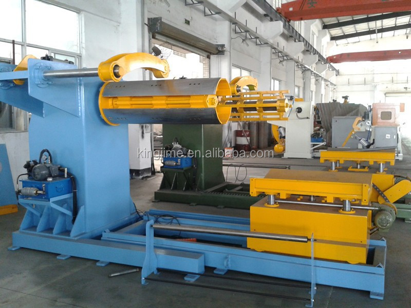 hydraulic automatic used uncoiler for steel coil