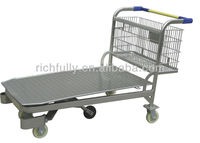 Heavy Duty Cargo Cash & Carry Hand/Shopping Trolley/Cart in 500KG in 5Wheels