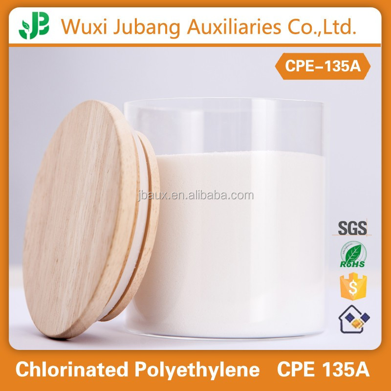 Chlorinated Polyethylene (CPE135A) for flame retardant additives in rubber compound