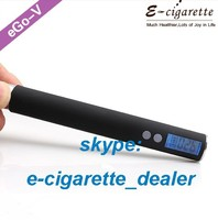 Winter 2014 best seller ego-v variable voltage battery with mini passthru charger e-vaping device