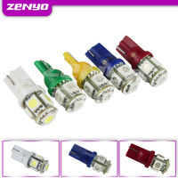 12V automotive led lights T10 5SMD led 5050
