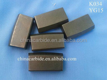 Top-quality Grade in YG15 Tungsten Carbide Mining Inserts K034