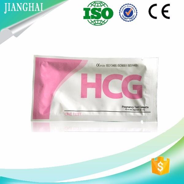 2017 New rapid hcg pregnancy test cassette for wholesales