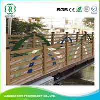 Factory price Wood Plastic Composite Wpc Railing Fence