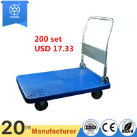 150kg 500kg Durable Logistics Trolley Heavy