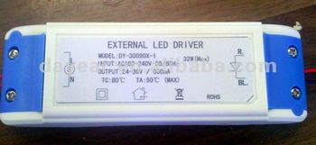 70w 90w output voltage20v -38v load power 2100ma led driver