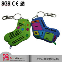 cheap map souvenir 3d soft pvc keychain