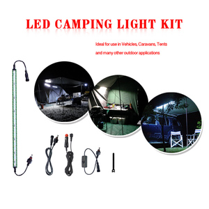 PanaTorch car accessories waterproof led rigid strip light bar for camping equipment