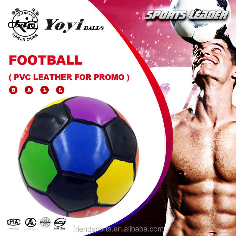 cool design PVC football for global COLA promotion