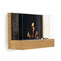 China no smell wall mounted fireplace ethanol