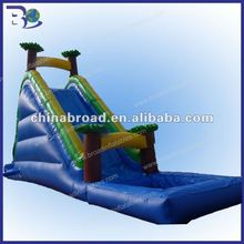 2012 exciting giant inflatable water slide for adult
