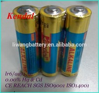 LR6 AA 1,.5V AM3 Alkaline Primary & Dry Batteries