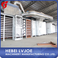 Natural gas burning type paper-faced gypsum board production line/china paper faced gypsum board production line