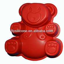 Bear Large Shape Silicone Bread Baking Mold Soup Mold Food Grade High Quality