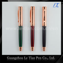 High quality German ink refill pen bulk Gold spray metal pens for sale