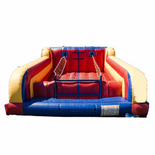 Commercial use Jacob's Ladder Climb inflatable, inflatable climb sports game for sale