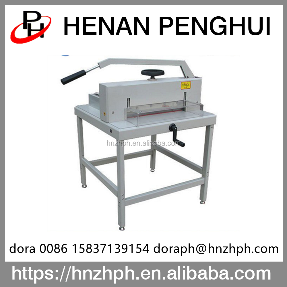 Industrial manual a4 a3 polar paper craft cutting machine