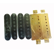 OEM Guitar Service Electric Guitar Parts 7 String Humbucker Pickup with Brass Baseplate Plastic Bobbin China best guitar price