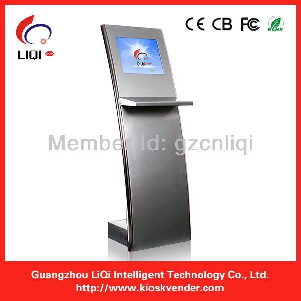Slim Kiosk Case Design, 1.2-1.5mm Cold Rolled Steel Kiosk Case,internet kiosk for sale