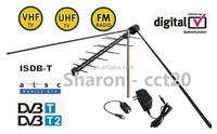 Model no. EM-06F High Gain Strong VHF/UHF Full-Channels TV Outdoor Antenna against bad weather - (CCT Antenna )